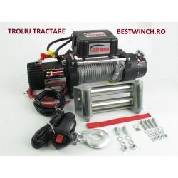 Troliu Tractare BestWinch 12500LBS 5600KG 12V sau 24 V Patrol Off-Road