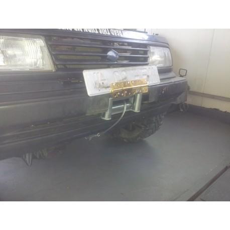 Exemplu Montaj Troliu Best Winch 12000LBS 5400 KG 12V Suzuki Vitara