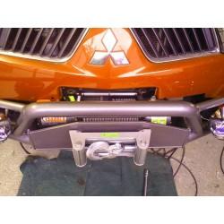 Exemplu Montaj Troliu Best Winch 12000LBS 5400 KG 12V  Mitsubishi L200