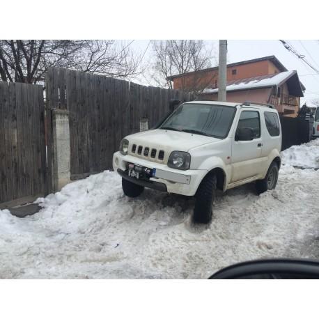Exemplu Montaj Troliu Best Winch 6800 LBS 3084 KG 12V Suzuki Jimny ALB :))))