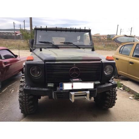 Exemplu Montaj Troliu Best Winch X12500 24V Mercedes G